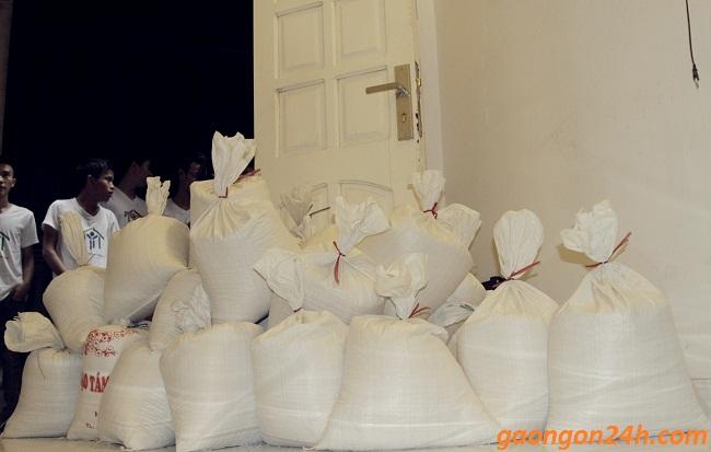 mẫu phiếu phát gạo làm từ thiện